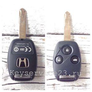 сделать чип ключ для honda, чип ключ для honda недорого
