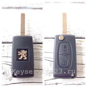 сделать чип ключ для peageot, чип ключ для peageot недорого